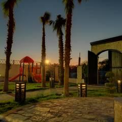 area infantil: Jardines de estilo  por EstigmArq Arquitectos