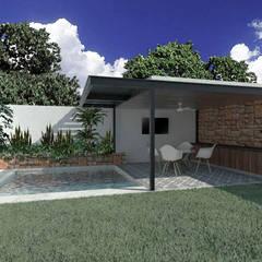Heftye Arquitecturaが手掛けた家庭用プール