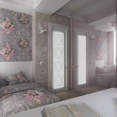 Спальня в стиле Light шебби-шик: Спальни в . Автор – StudiaTZ