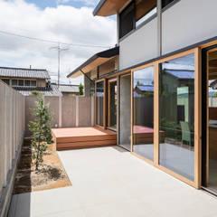 wall pillar: 建築設計事務所SAI工房が手掛けた庭です。