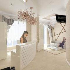 парикмахерская, ресепшн: Коммерческие помещения в . Автор – Андреева Валентина