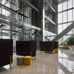 Edificios de oficinas de estilo  por Pracownia Projektowa Poco Design