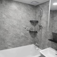 안양시 평촌동 향촌마을 현대아파트 (32평): YONG DESIGN의  욕실
