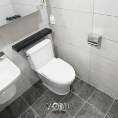 안양시 평촌동 향촌마을 현대아파트 (32평): YONG DESIGN의  욕실,미니멀