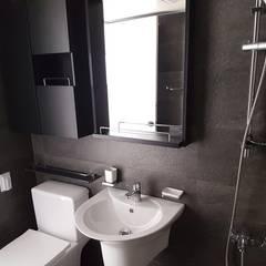 공작 부영아파트 21평 인테리어: YONG DESIGN의  욕실,미니멀