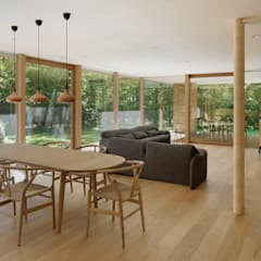 Dining room by atelier137 ARCHITECTURAL DESIGN OFFICE,