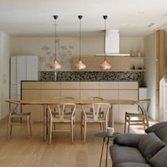 Dapur built in by atelier137 ARCHITECTURAL DESIGN OFFICE
