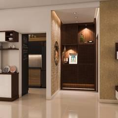 Foyer:  Corridor & hallway by Modulart