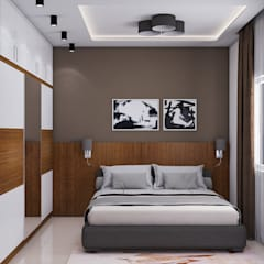 Master Bedroom:  Bedroom by Modulart