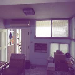 asian Living room by 奕禾軒 空間規劃 /工程設計