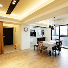 modern Dining room by 奕禾軒 空間規劃 /工程設計