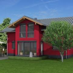 Perspektive:  Landhaus von HAUSBAU Gutachter Hans-Arnold Küfner