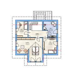Dachgeschoß:  Landhaus von HAUSBAU Gutachter Hans-Arnold Küfner