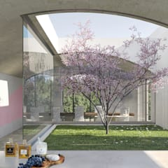 Taman Modern Oleh architetto stefano ghiretti Modern