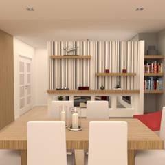 غرفة السفرة تنفيذ Filipa Sousa Interior Design