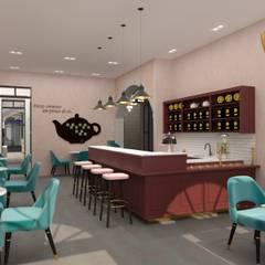 RedTea 1: Lojas e espaços comerciais  por Filipa Sousa Interior Design