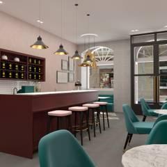 RedTea 2: Lojas e espaços comerciais  por Filipa Sousa Interior Design