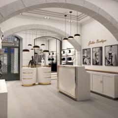 Golden boutique 2: Lojas e espaços comerciais  por Filipa Sousa Interior Design