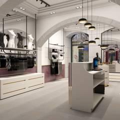 Golden boutique 3: Lojas e espaços comerciais  por Filipa Sousa Interior Design