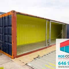 contenedores marítimos para eventos: Espacios comerciales de estilo  de Ros container