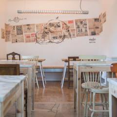 Sala de Refeições: Salas de jantar  por aponto