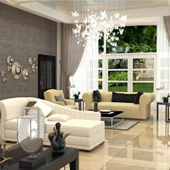Living room by IDEARCH