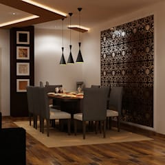 modern Dining room by IDEAARCH