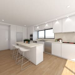 Kitchen by DR Arquitectos , Minimalist