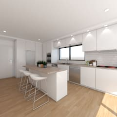 Kitchen by DR Arquitectos ,