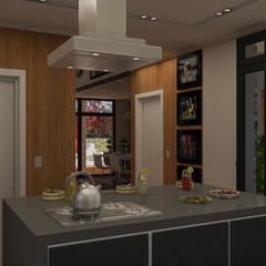 De cocina a comedor: Cocinas a medida  de estilo  por DUSINSKY S.A.