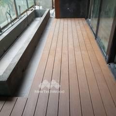 Terrazas de estilo  por 新綠境實業有限公司
