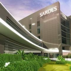 ANTE MİMARLIK  – Sardes Hastanesi:  tarz Hastaneler