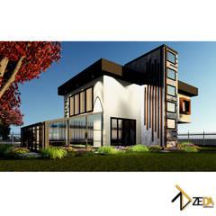 Zeda Mimarlık – Bandırma Müstakil Ev:  tarz Müstakil ev