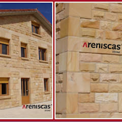 Detached home by ARENISCAS STONE