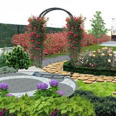 konseptDE Peyzaj Fidancılık Tic. Ltd. Şti. – Z.H KONUTU Peyzaj Projelendirme & Landscaping Project:  tarz Bahçe