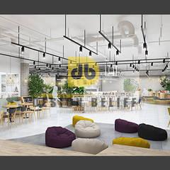 북카페: (주)디비디자인의  바 & 카페