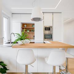 minimalistic Kitchen by EF_Archidesign