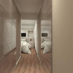 Apartamento 220mts: Closets  por NSFAZ ARQUITETURA E CONSTRUÇÃO