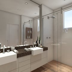 Phòng tắm by NSFAZ ARQUITETURA E CONSTRUÇÃO