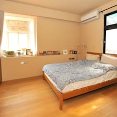 asian Bedroom by 直方設計有限公司