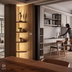 modern Dining room by 漢玥室內設計
