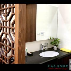 三星 禪:  浴室 by 艾莉森 空間設計