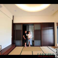 三星 禪:  臥室 by 艾莉森 空間設計
