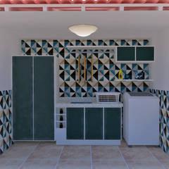 Terrace by Mariana Bittencourt Arquitetura