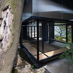 Tiny Japanese House et Jardin de même inspiration:  Häuser von Ecologic City Garden - Paul Marie Creation