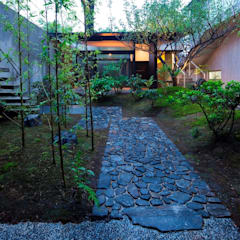 Tiny Japanese House et Jardin de même inspiration:  Garten von Ecologic City Garden - Paul Marie Creation