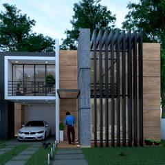 casa: Casas unifamiliares de estilo  por ELOARQ