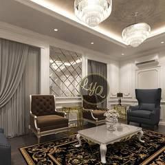 Interior Design classic: Ruang Keluarga oleh PT. Leeyaqat Karya Pratama,