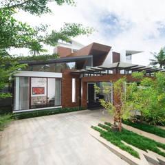 Exterior View:  Villas by Kembhavi Architecture Foundation