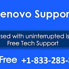 Call 1-833-283-8333 Lenovo Service Number For Reliable Solutions :  Windows by Support Number